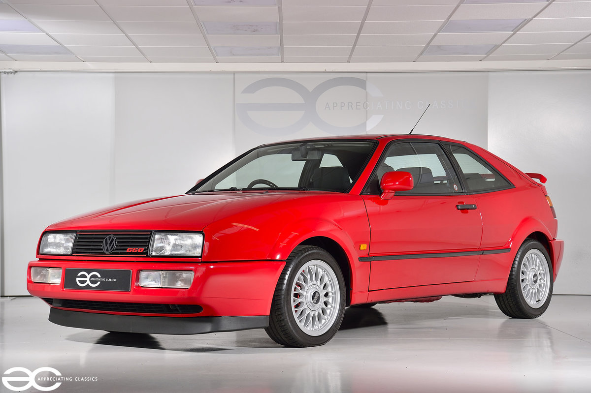 1991 Corrado G60 A very rare & well cared for example - 42k miles For Sale (picture 2 of 6)