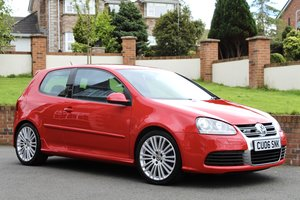 2006 VW golf, mk5 r32 4motion, 3 door red manual