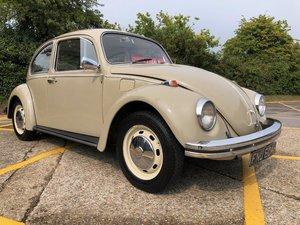 1970 VW Beetle. 1500. Savannah beige. Goldie Sunroof.