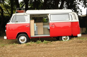 Red Australian import. 4 berth camper. 2 litre engine