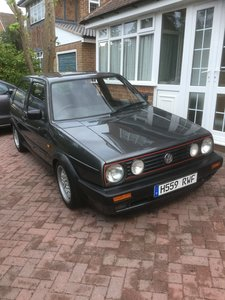 VW Mk2 Golf Gti - 8v Atlas Grey
