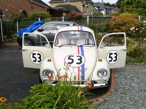 1974 VW 1303s herbie beetle