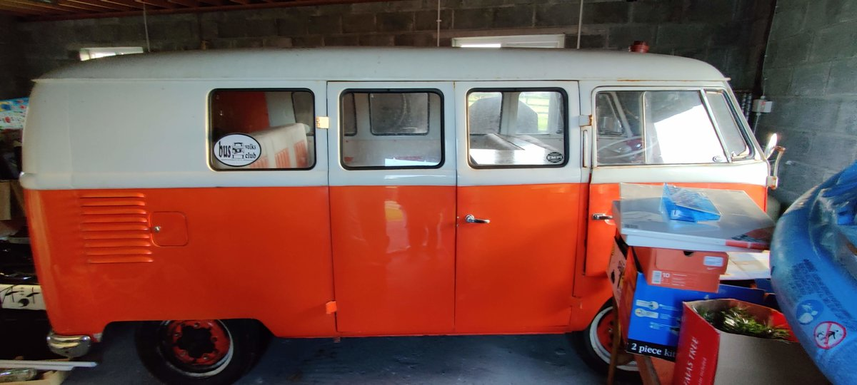 1957 Rare VW Split Screen (LHD) For Sale (picture 2 of 6)