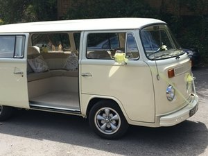 1973 Superb wedding ready Baywindow Campervan