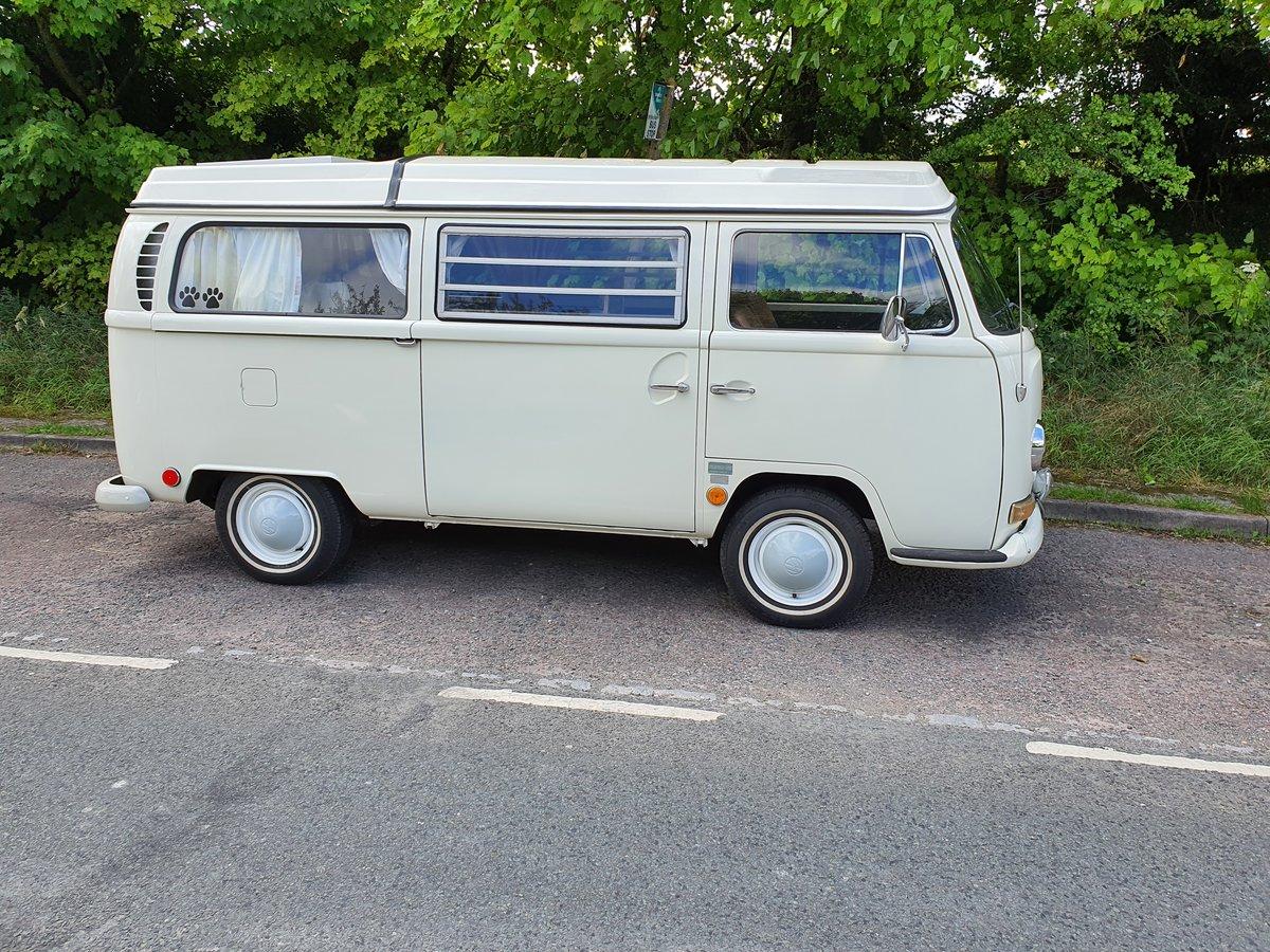 1969 VW Bay Window Camper, Early Bay, Westfalia  SOLD (picture 1 of 6)