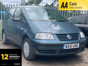 Picture of 2001 Volkswagen Sharan 2.0 S 5dr DISABLED WHEELCHAIR ACCESS
