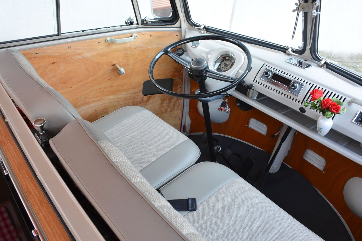 1967 Fully restored German Volkswagen T1 For Sale (picture 5 of 6)