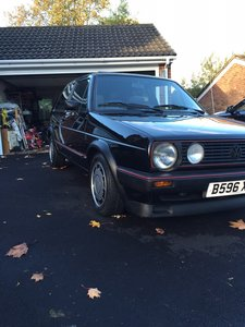 Golf GTI Mk2 Type 19 59k miles fully original