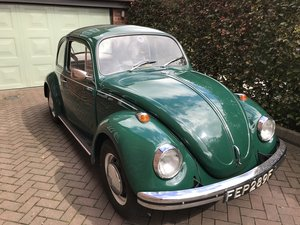 1968 Very Original VW Beetle 1300