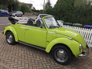 1973 VW Beetle Karmann Convertible LHD