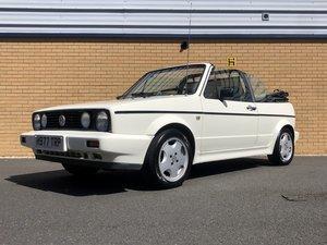 1990 VW GOLF MK1 // 1.8L // CLIPPER // Convertible // 90 BHP