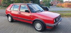 1991 (J) VW Golf Driver Mk2 1.8 Weber Carburetor 5door For Sale