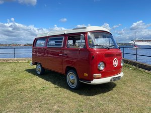 VW Campervan T2 Early Westfalia LHD