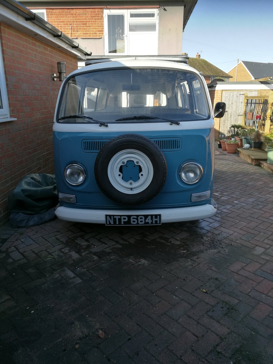 1969 VW T2 Camper Unfinished Project For Sale (picture 1 of 6)