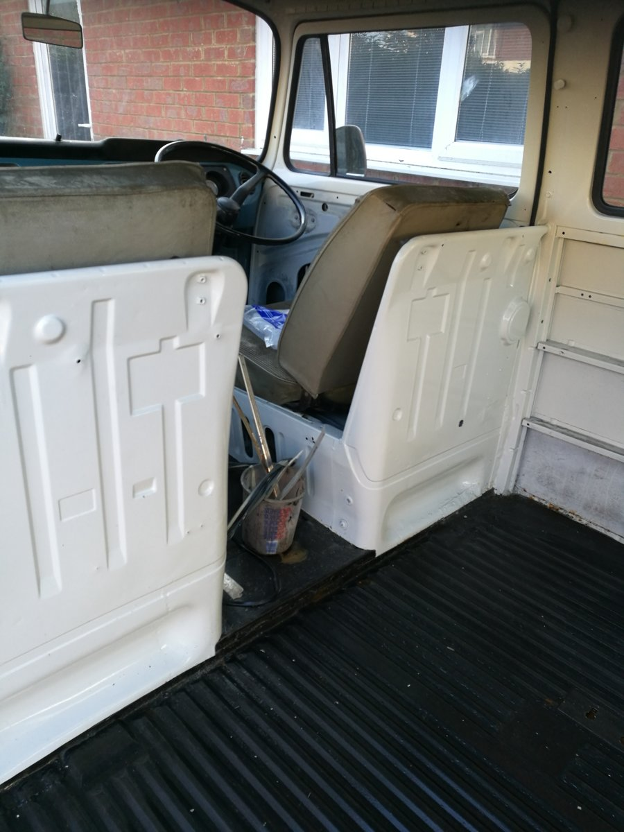 1969 VW T2 Camper Unfinished Project For Sale (picture 4 of 6)