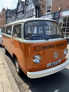 1973 VW Bay Window Camper