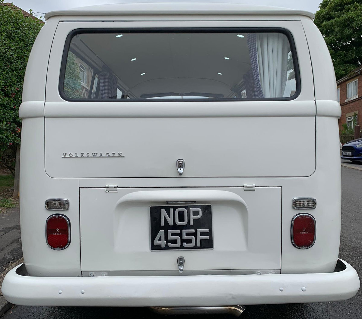 1968 VW T2 Early Bay Window Campervan LHD For Sale (picture 2 of 6)