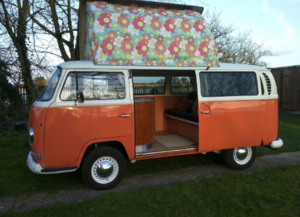 1971 VW Dormobile Camper Early T2 Bay sprayed with hot