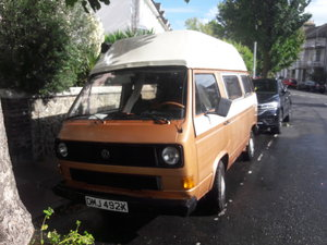 VW T25 campervan - Brunhilde.