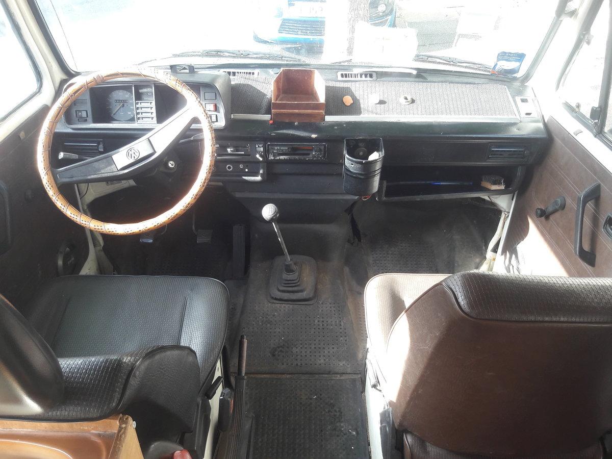 1981 VW T25 campervan - Brunhilde. For Sale (picture 4 of 6)