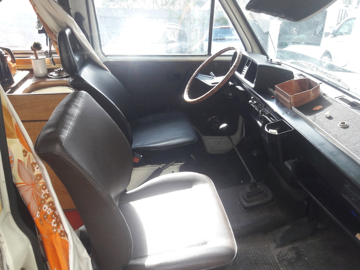1981 VW T25 campervan - Brunhilde. For Sale (picture 5 of 6)