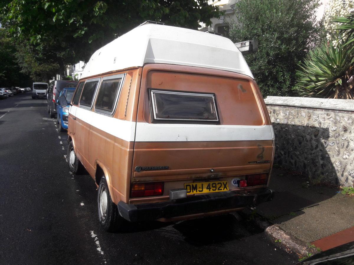 1981 VW T25 campervan - Brunhilde. For Sale (picture 6 of 6)