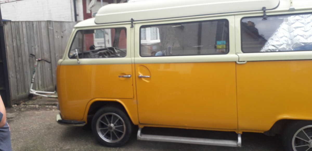 1972 VW T2 crossover Dormobile camper van tax exempt For Sale (picture 1 of 6)