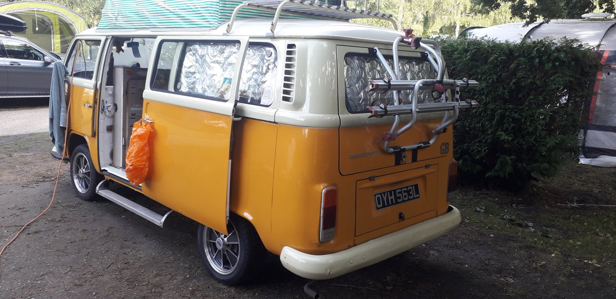 1972 VW T2 crossover Dormobile camper van tax exempt For Sale (picture 6 of 6)