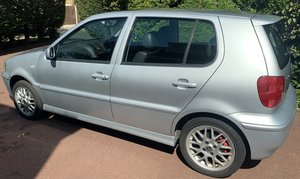 Picture of 2001 VW Polo GTI 6N. Silver. Black leather.