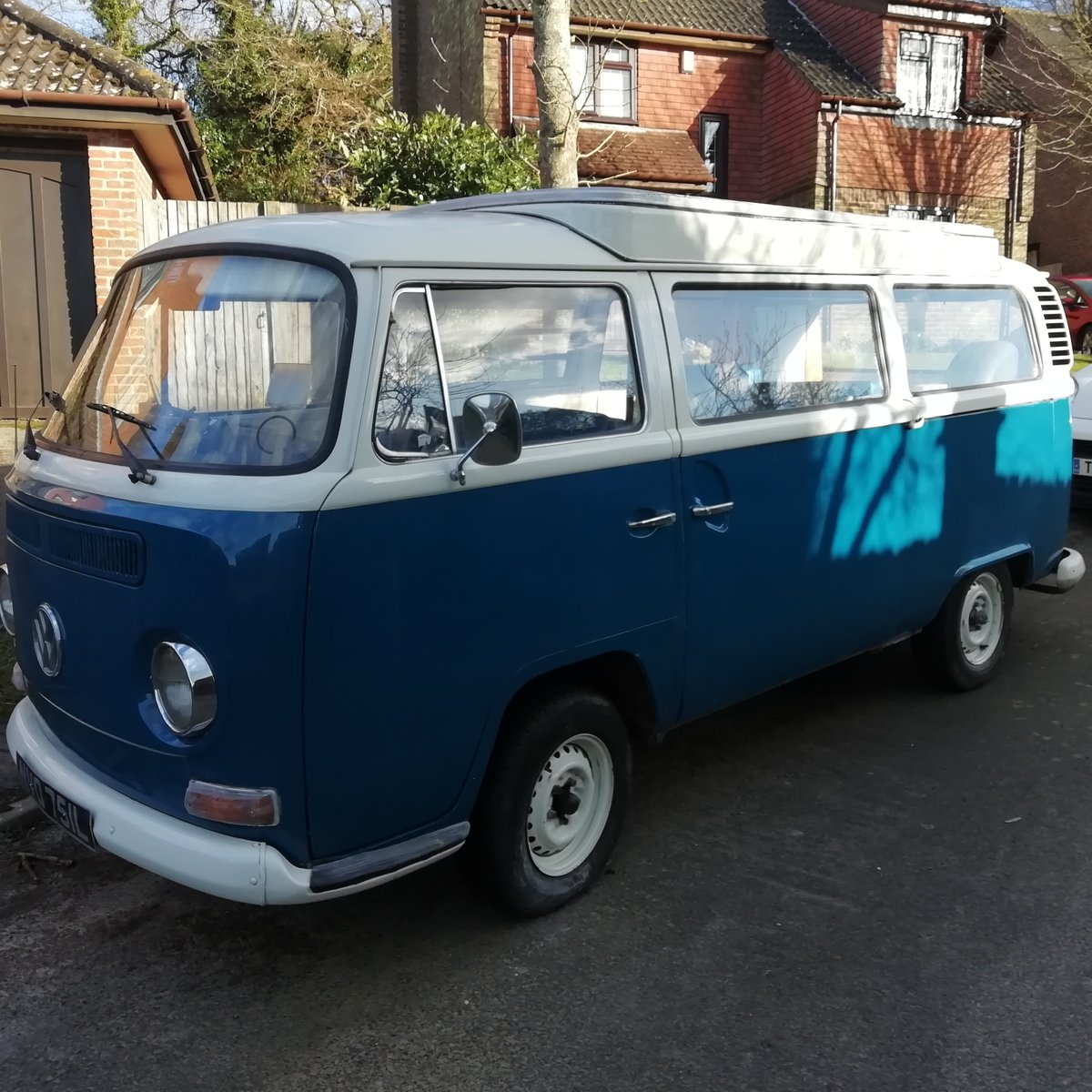 1972 Bay Window VW Camper For Sale (picture 1 of 6)