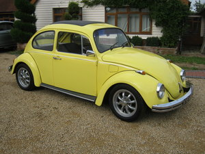 1969 VW BEETLE 1200/1600. STUNNING RESTORED CAR. SUNROOF SOLD