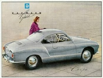 Picture of Karmann Ghia low light 1955-59