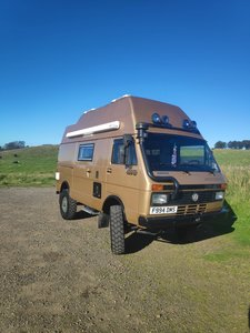 The Beastie - VW LT 40 4x4 Expedition Camper