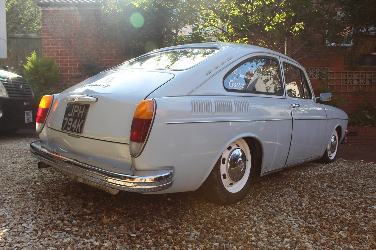1972 Restored VW 1600 Fastback For Sale (picture 2 of 6)