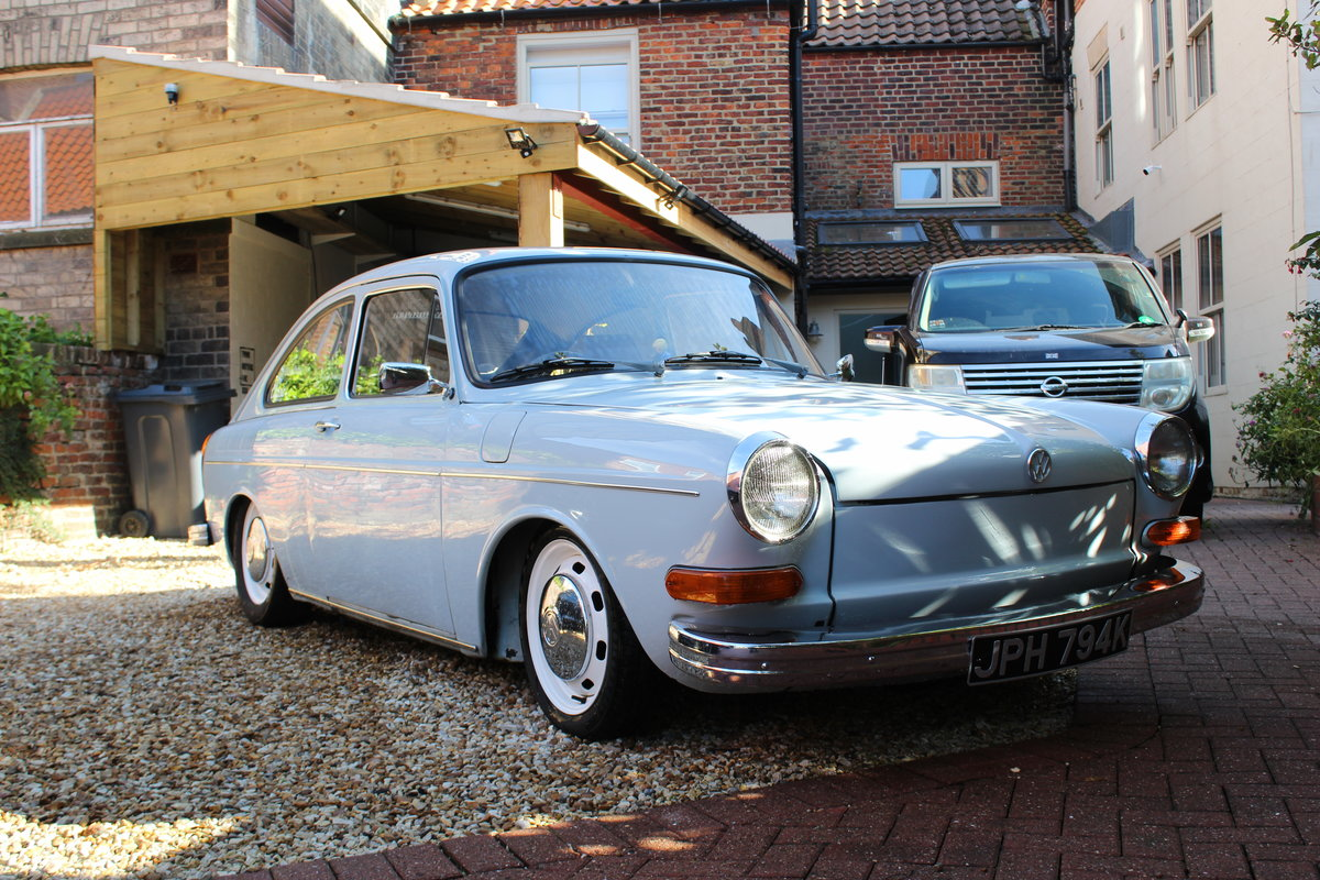 1972 Restored VW 1600 Fastback For Sale (picture 1 of 6)