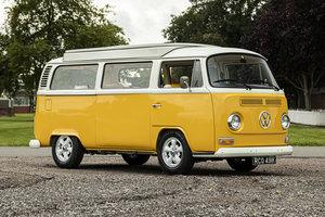 1972 VW T2 Bay Window Camper Fresh & Extensive Restoration