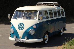 1966 VW Split Screen Camper Van. Factory German Built. RHD