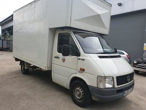 **OCTOBER ENTRY** 2005 Volkswagen LT 35 TDI LWB Luton Body For Sale by Auction
