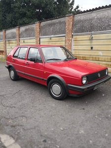 1986 1984 Golf CD for sale by Auction 19th September  For Sale by Auction