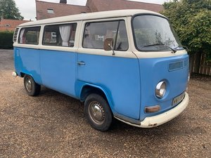 **OCTOBER ENTRY** 1973 Volkswagen Camper For Sale by Auction
