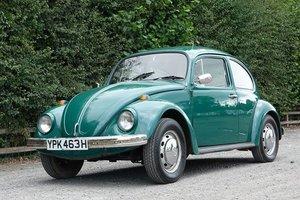 1969 Volkswagen Beetle 1500