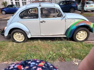 Picture of 1971 Beetle 1200 runs good use as is or restore,towbar,