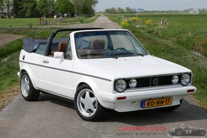 Picture of 1984 Volkswagen Golf 1 GLI Convertible in very good condition