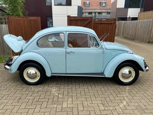 1969 VW Beetle 1500 Reduced