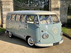 Stunning VW Split Screen Camper 11 Window
