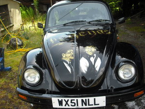 2000 VW Beetle Art Car