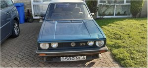 1984 A barn find , valkswagen golf gti convertible