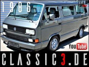 """1986 VOLKSWAGEN T3 CARAVELLE """"CARAT"""" AUTOMATIC WBX 112 HP"""