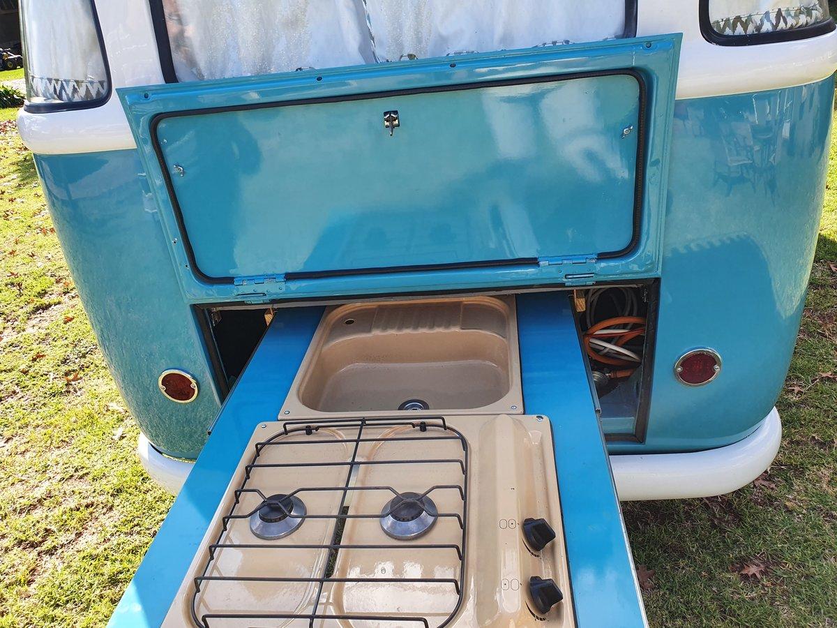 1968 Volkswagen split window camper For Sale (picture 5 of 6)
