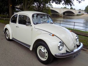 VOLKSWAGEN BEETLE 1300 - RESTORED - ORIGINAL RHD UK CAR